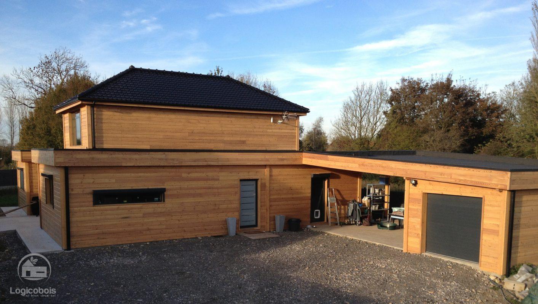 Maison ossature bois logicobois