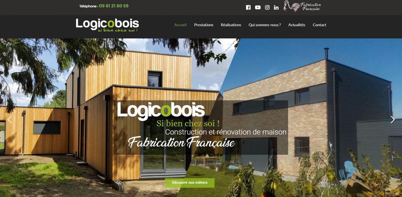 Nouveau site logicobois