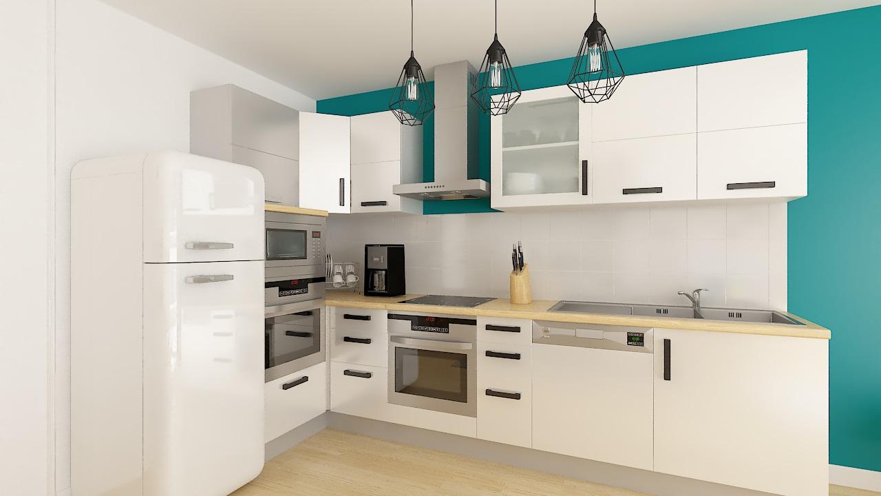 Cuisine maison ossature bois Calais