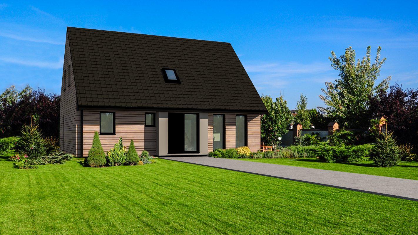 maison ossature bois Bruges Logicobois