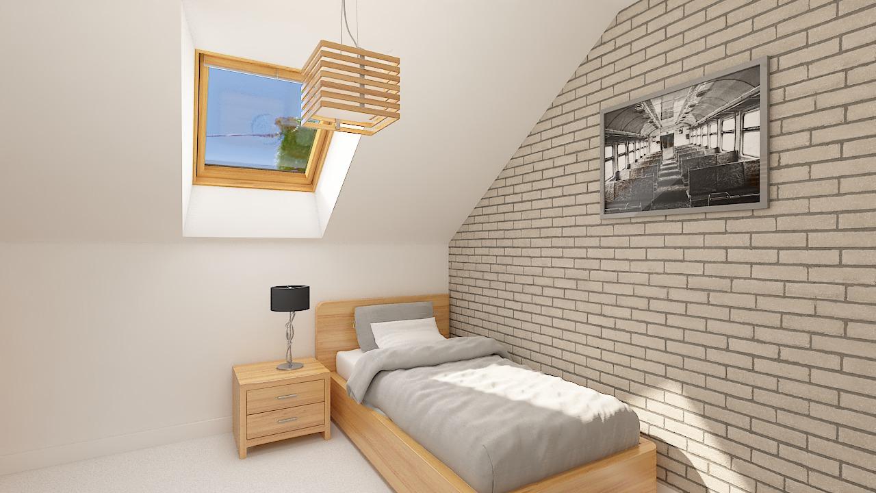Maison ossature bois logicobois modèle Atlanta - Chambre 3