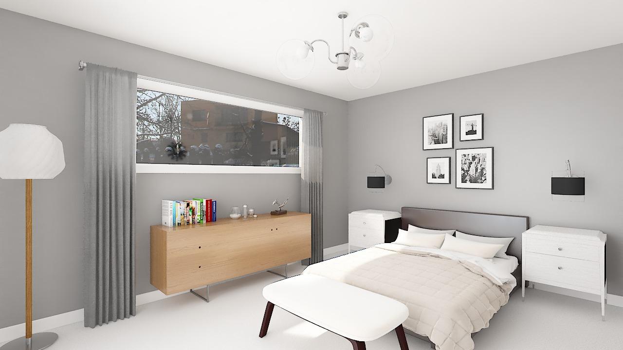 Maison ossature bois logicobois modèle Courchevel - chambre1