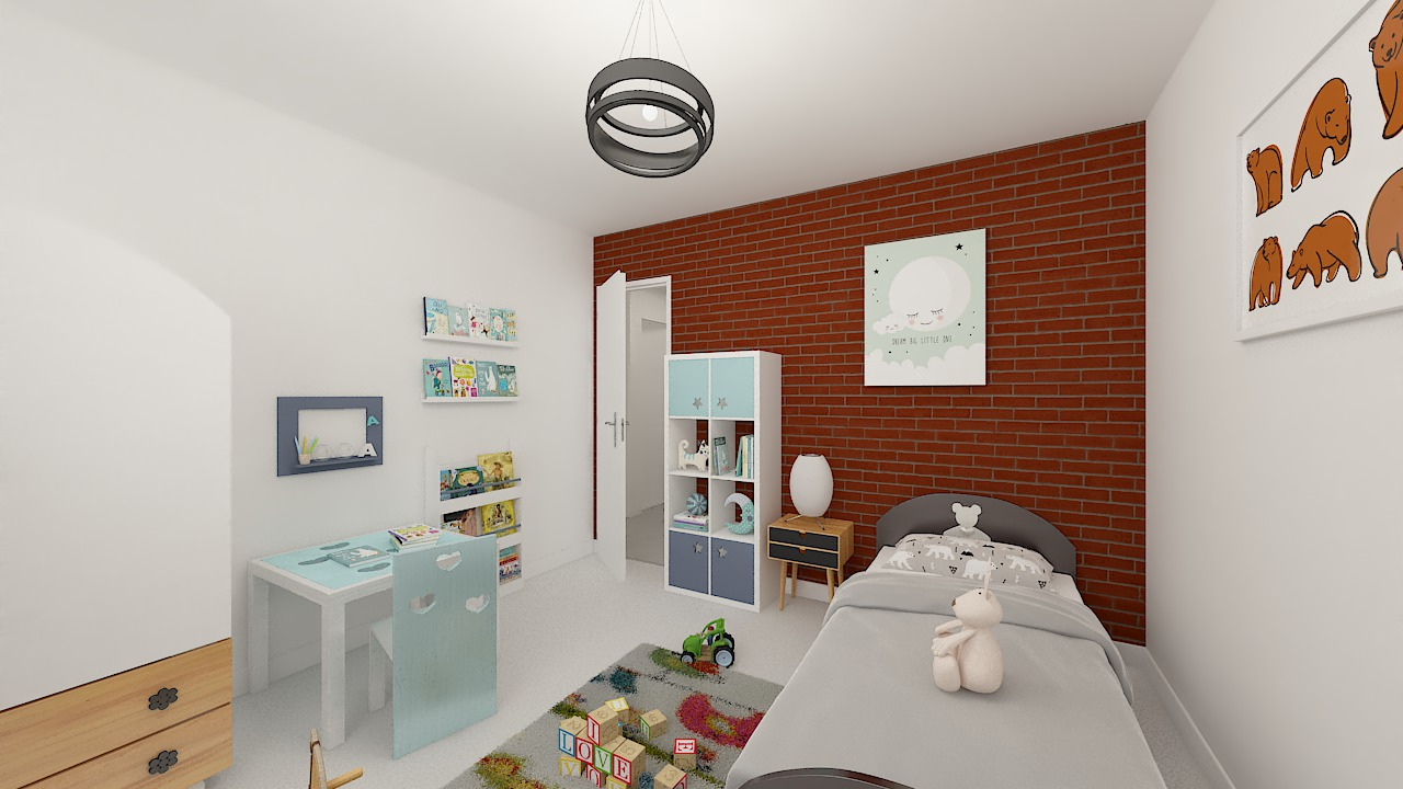 Maison ossature bois logicobois modèle Oran - chambre3