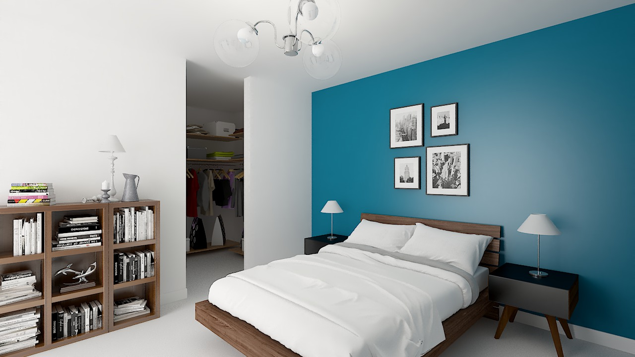 Maison ossature bois logicobois modele miami - chambre1