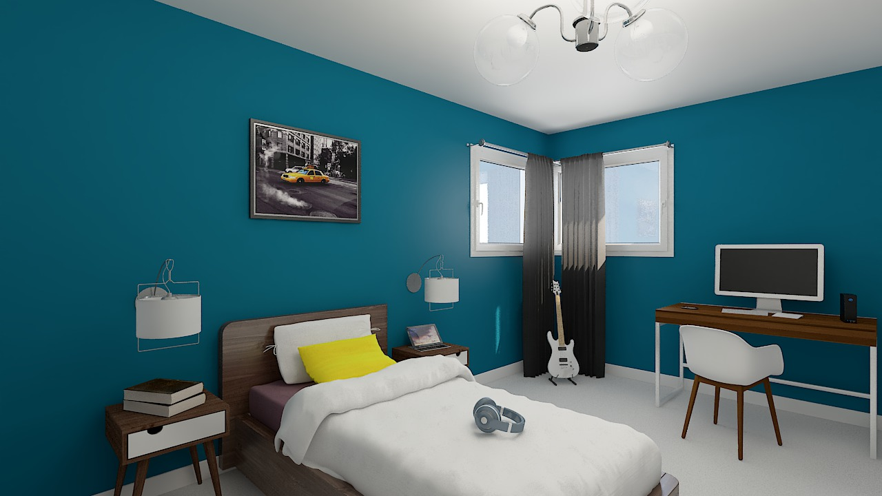 Maison ossature bois logicobois modele miami - chambre3