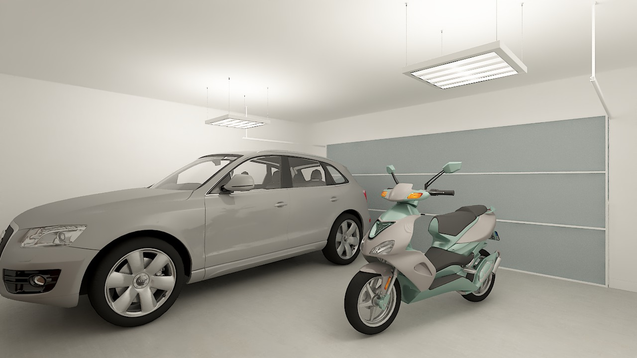 Maison ossature bois logicobois modele miami - garage
