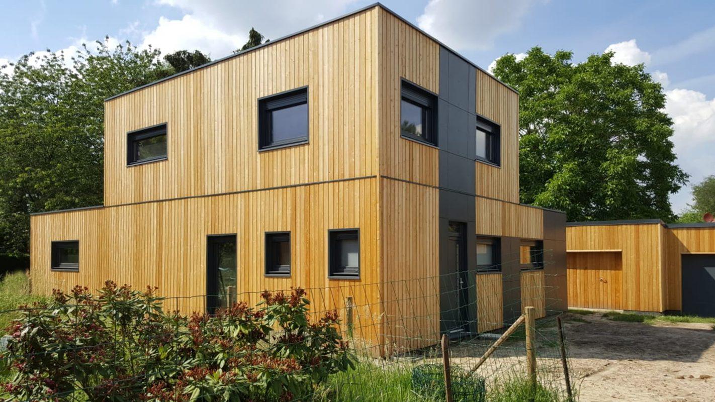 Construction maison bois pas de calais