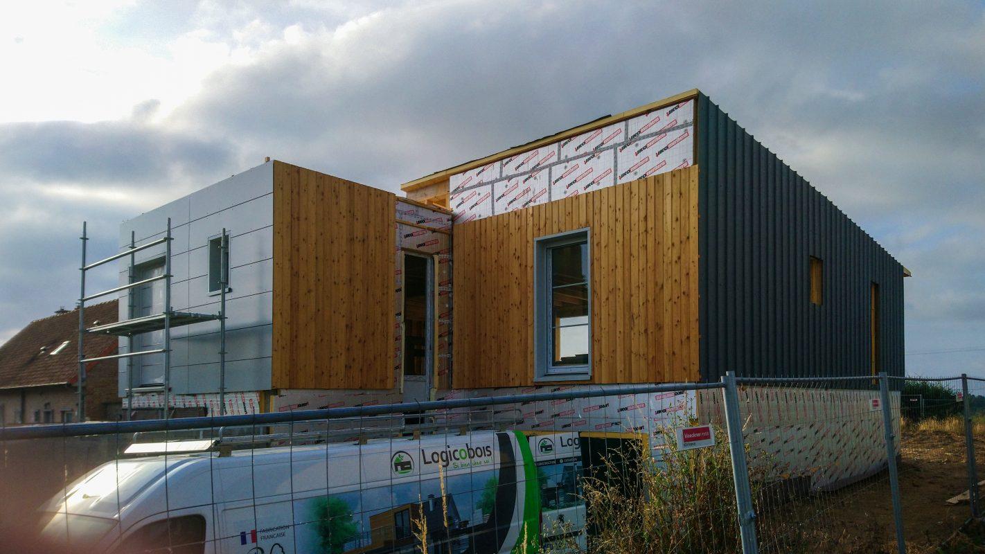 construire maison ossature bois