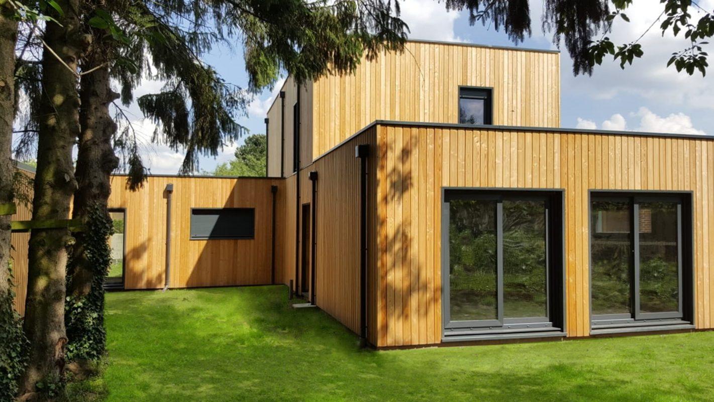 Construction maison ossature bois