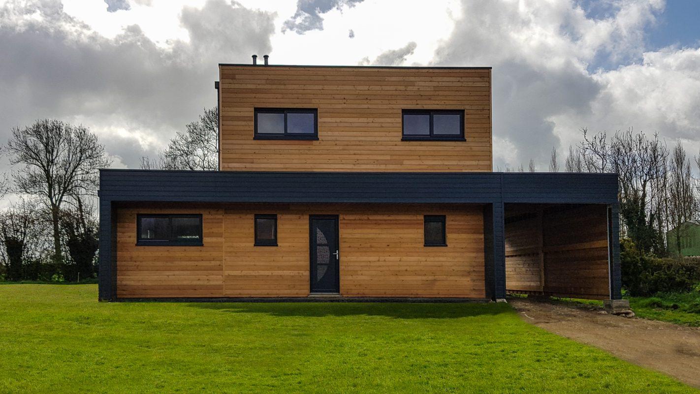 Pas de Calais - Construction ossature bois