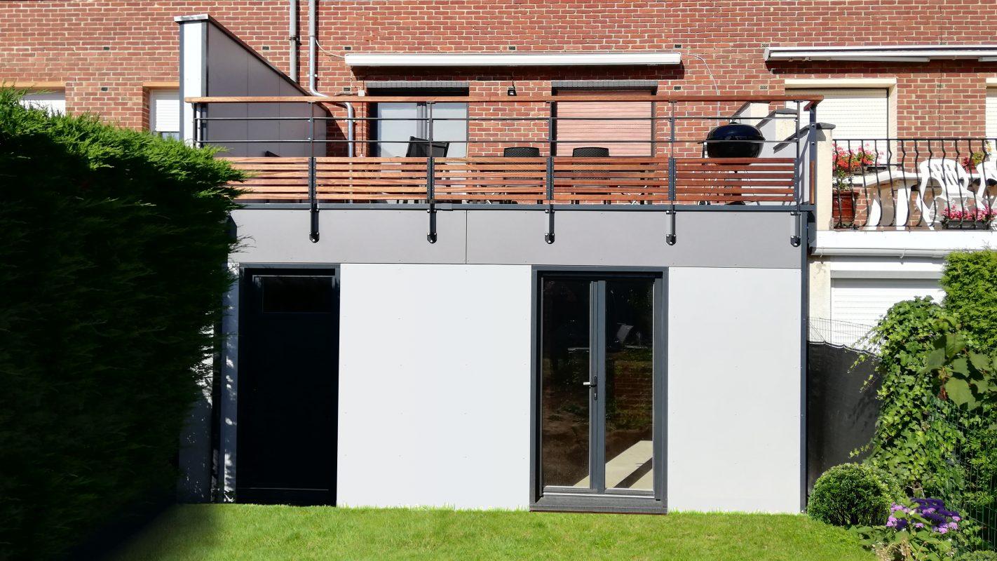 extension maison ossature bois par logicobois