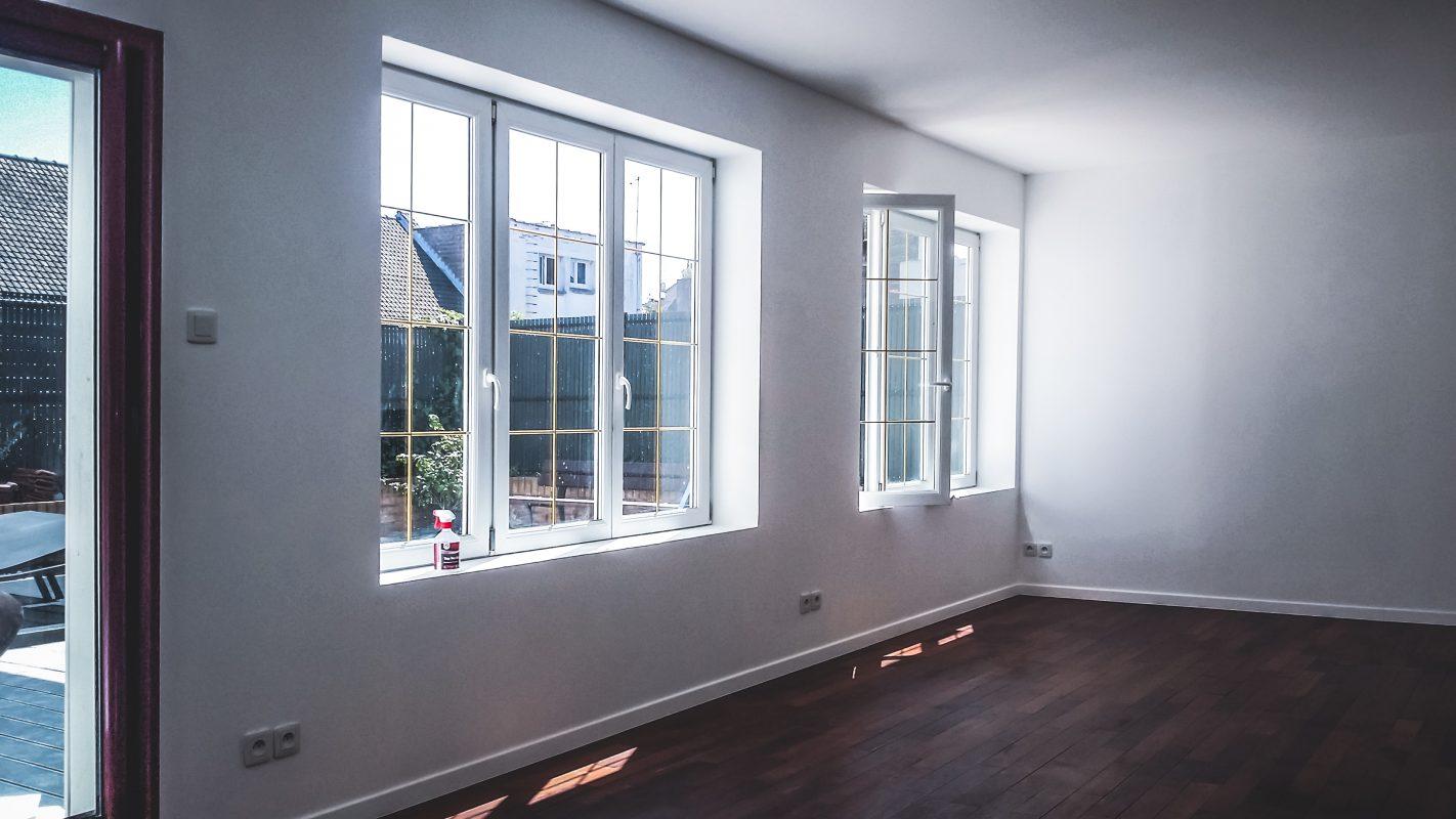 logicobois - interieur extension ossature bois