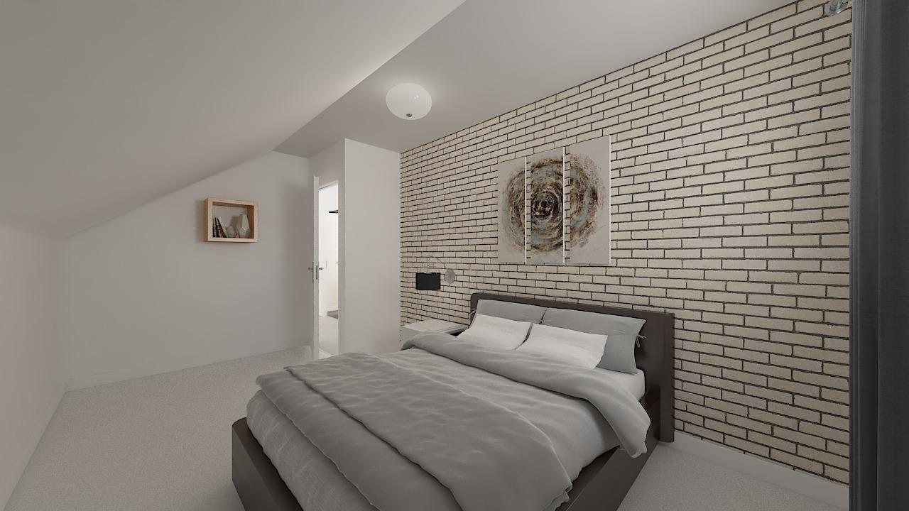 maison ossature bois logicobois modele Amsterdam - chambre4