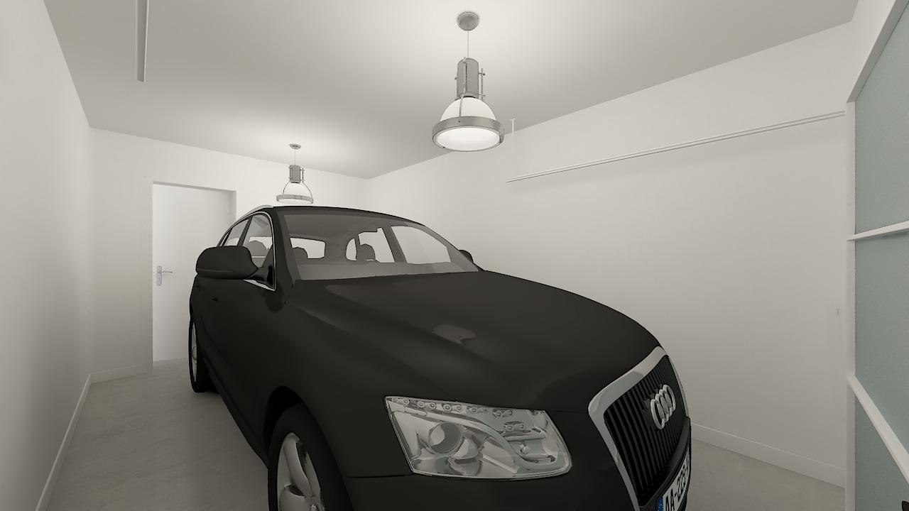 maison ossature bois logicobois modele Amsterdam - garage