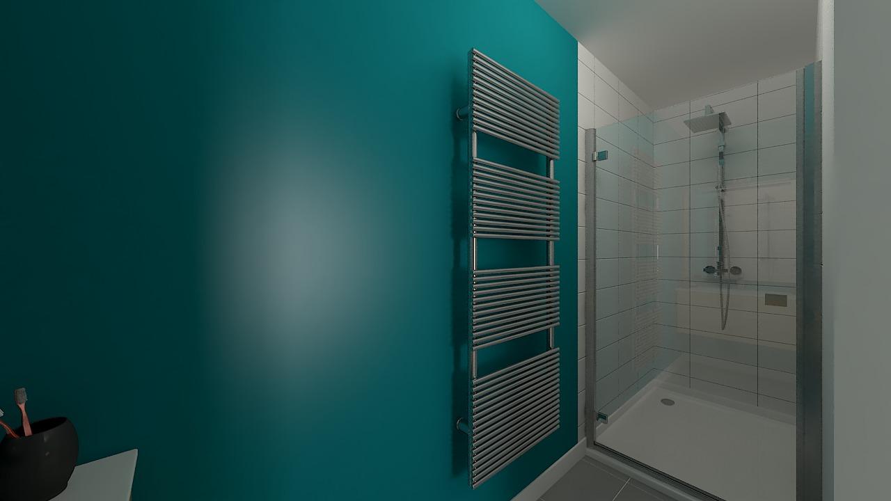 maison ossature bois logicobois modele Athenes - sdb2
