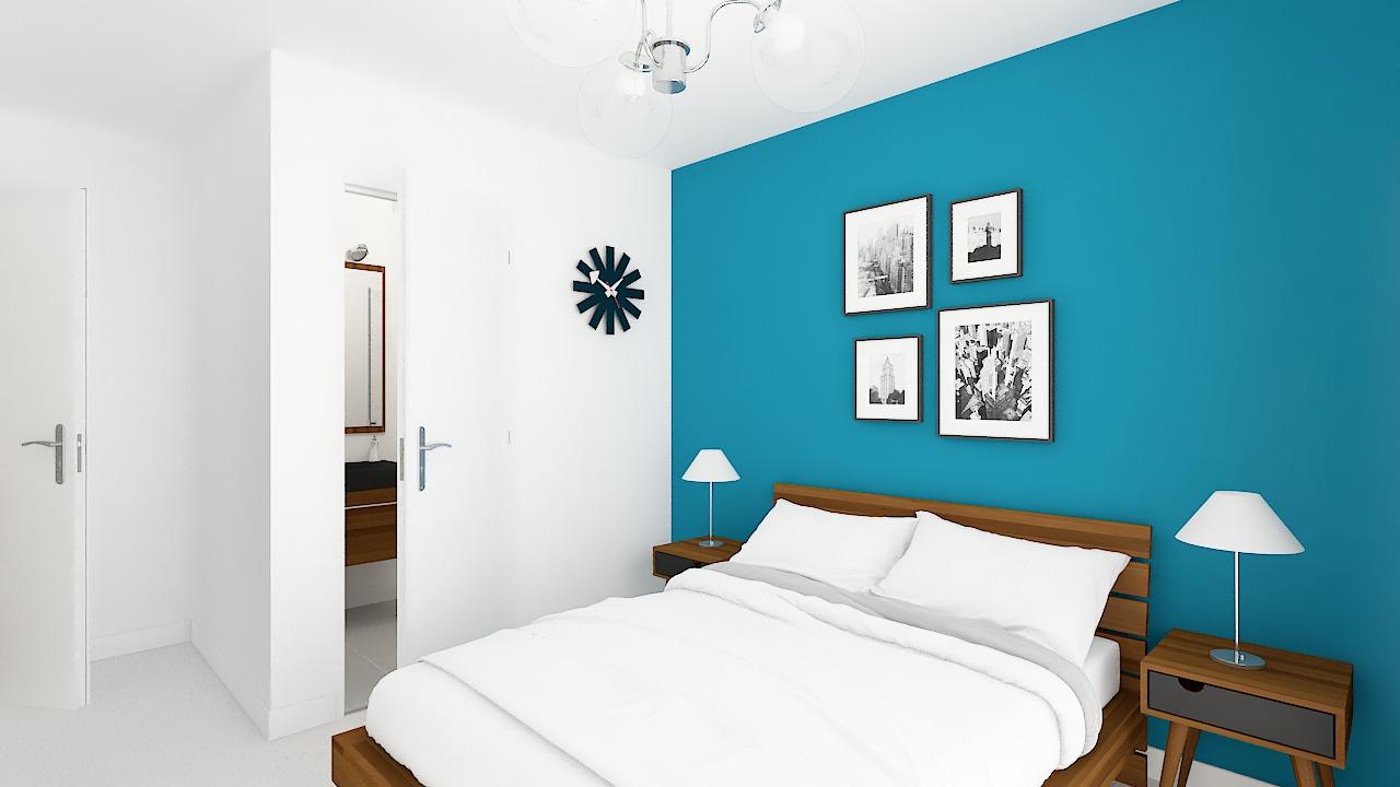 maison ossature bois logicobois modele cancun - chambre1