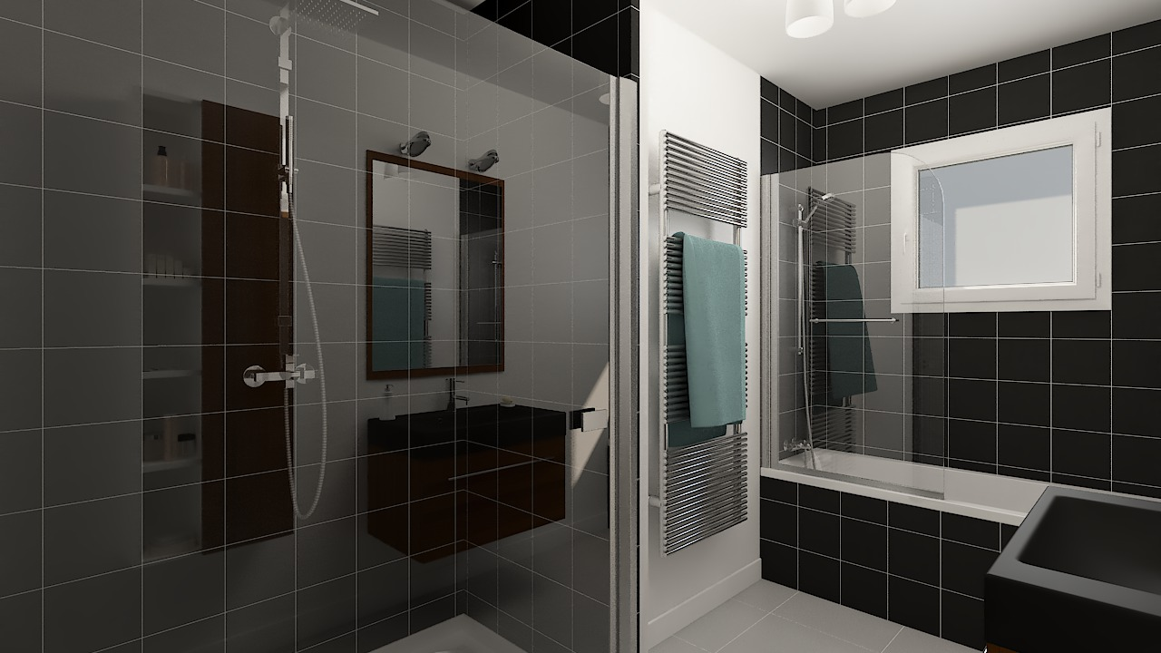 maison ossature bois logicobois modele cancun - sdb2