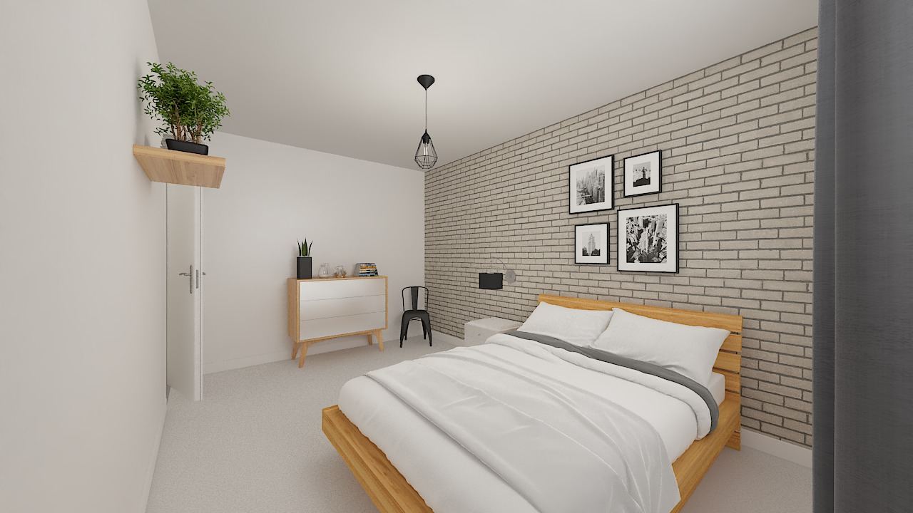maison ossature bois logicobois modele malaga - chambre4