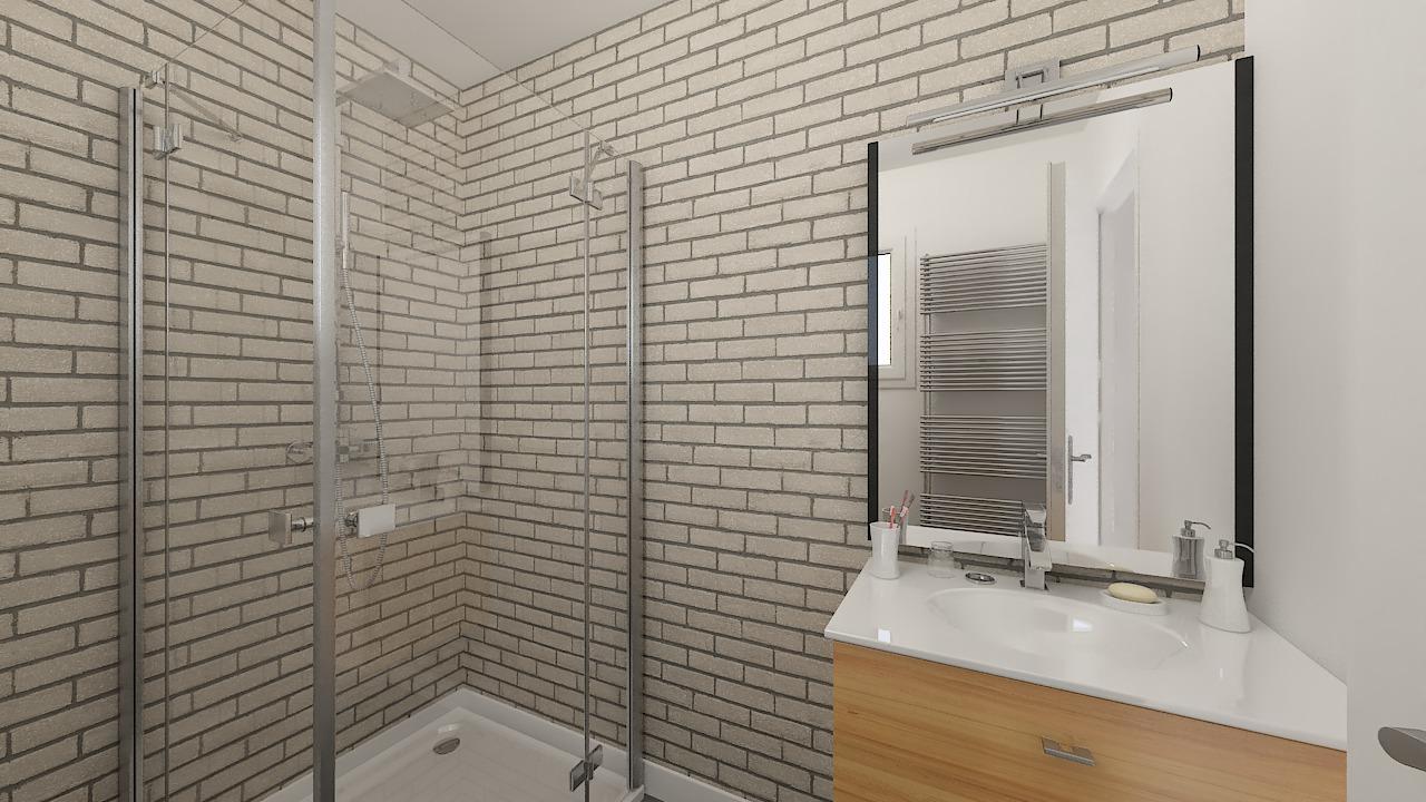 maison ossature bois logicobois modele malaga - sdb2