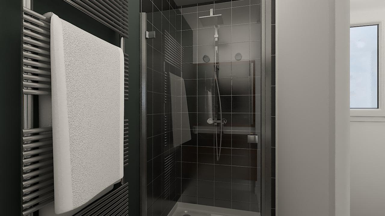 maison ossature bois logicobois modele milan - sdb2