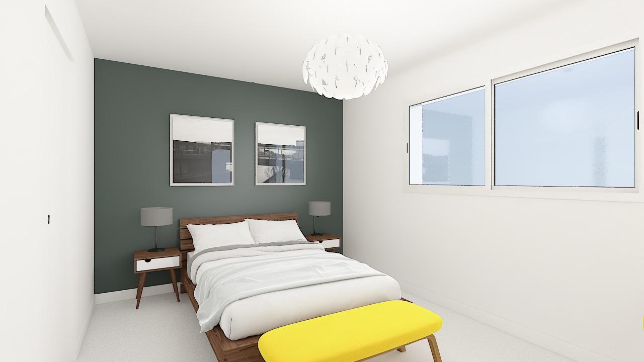 maison ossature bois logicobois modele new-york - chambre3