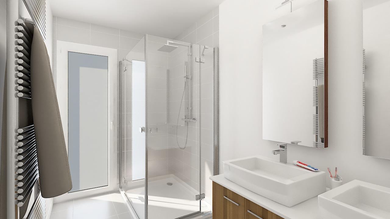 maison ossature bois logicobois modele new-york - sdb1