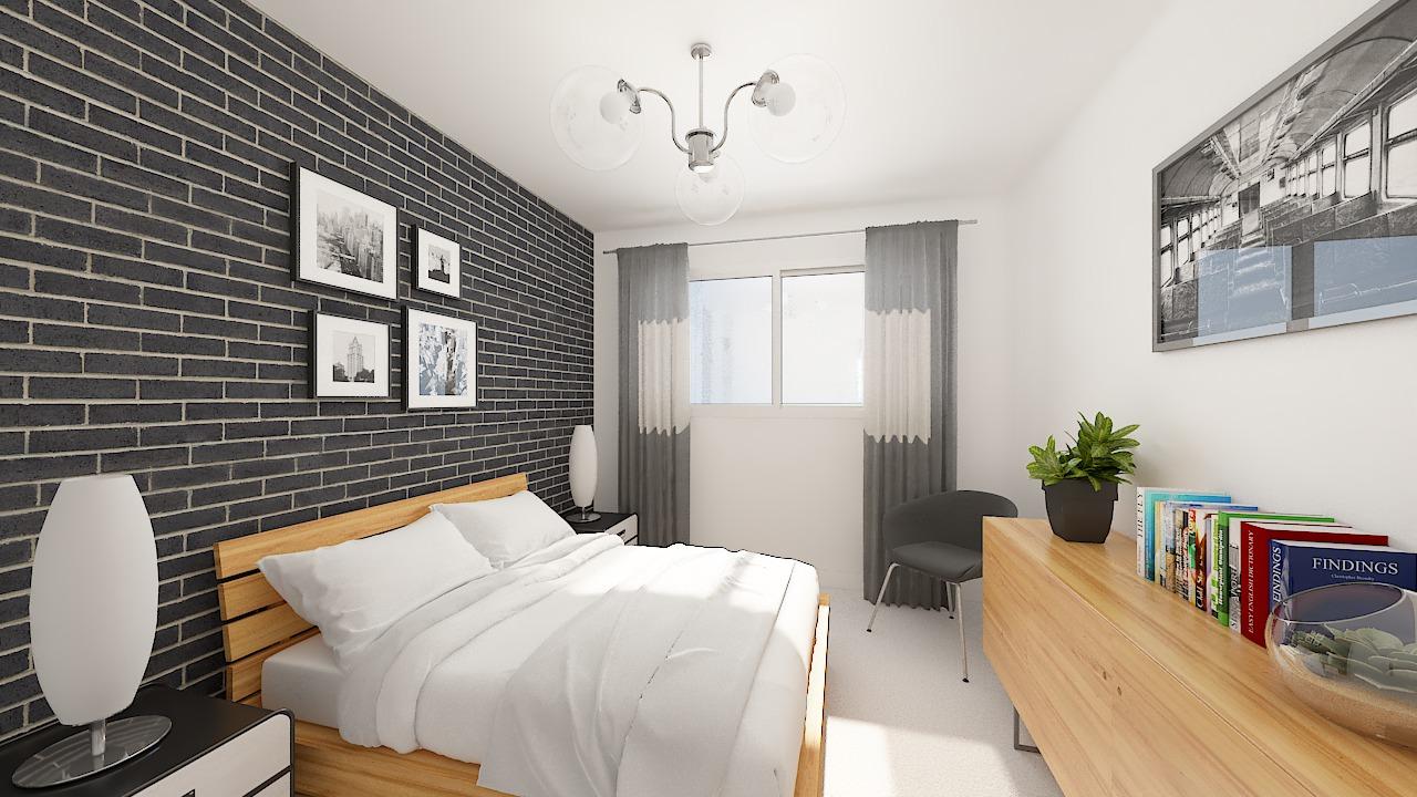 maison ossature bois logicobois modele oslo - chambre3