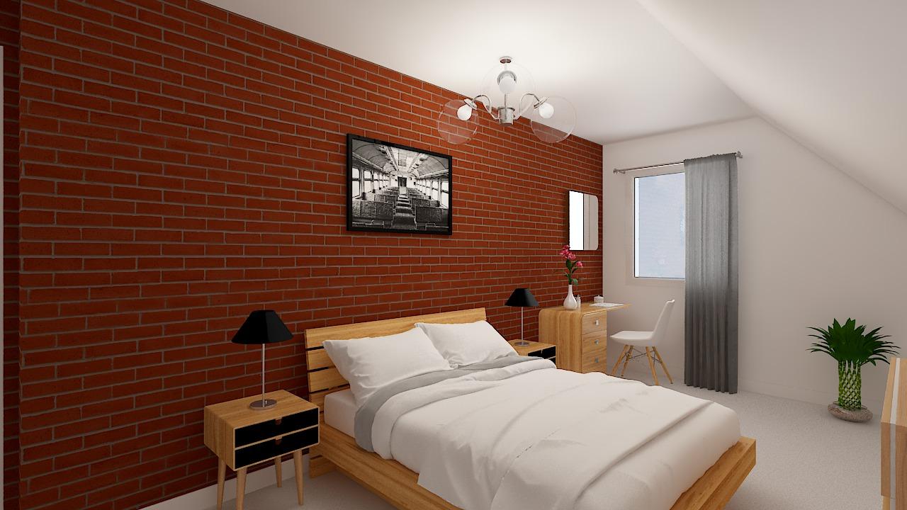 maison ossature bois logicobois modele ostrava - chambre1