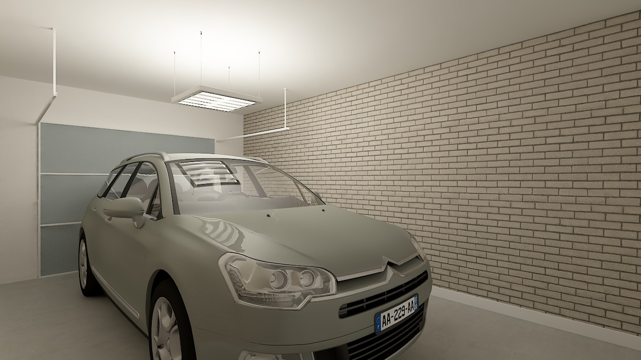 maison ossature bois logicobois modele ostrava - garage