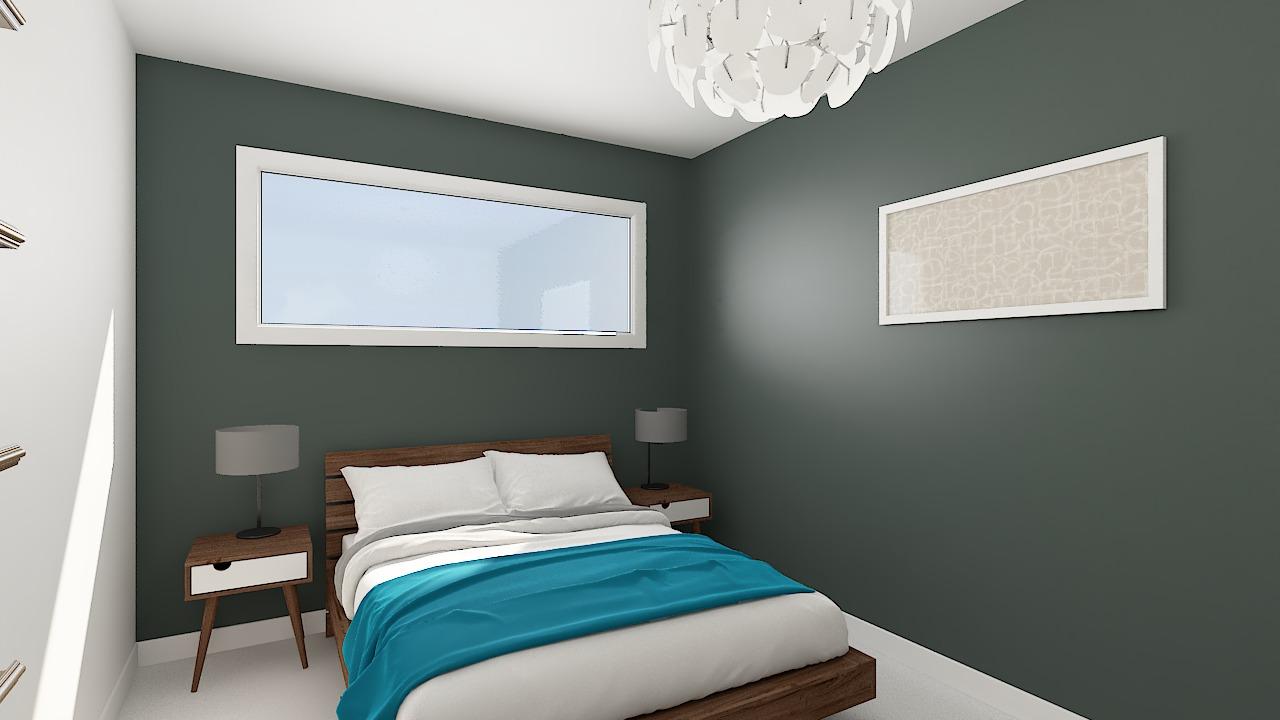 maison ossature bois logicobois modele riga - chambre2