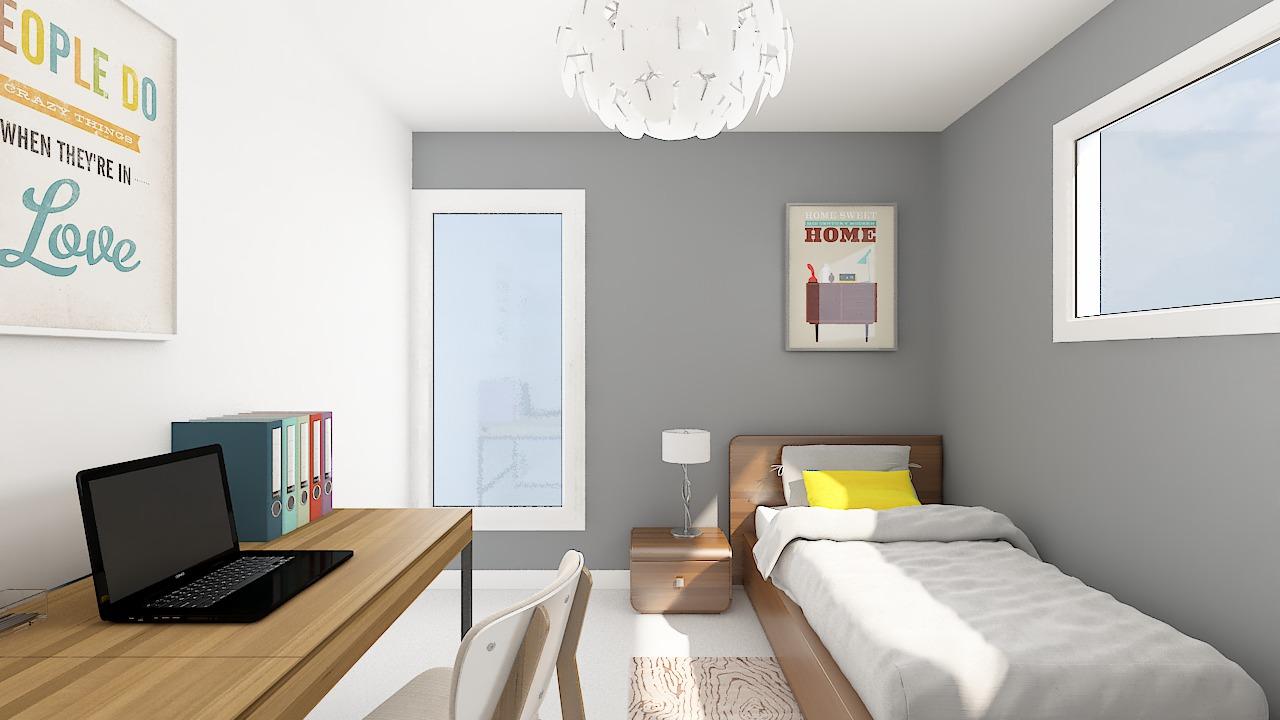 maison ossature bois logicobois modele riga - chambre3