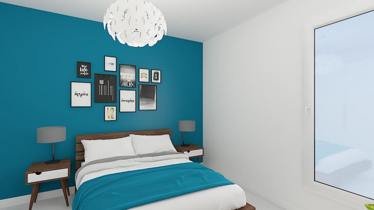 maison ossature bois logicobois modele riga - chambre4