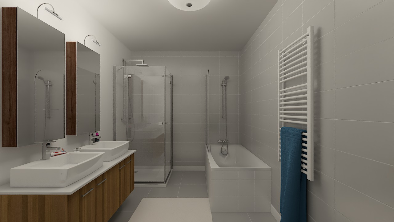 maison ossature bois logicobois modele riga - sdb1