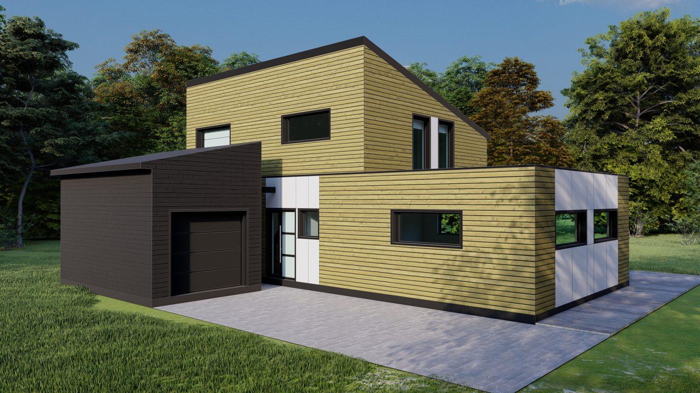 maison ossature bois logicobois modele riga