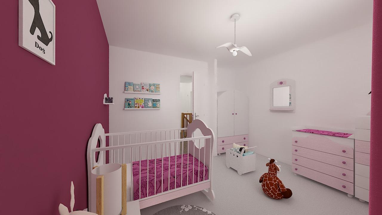 maison ossature bois logicobois modele shangai - chambre3