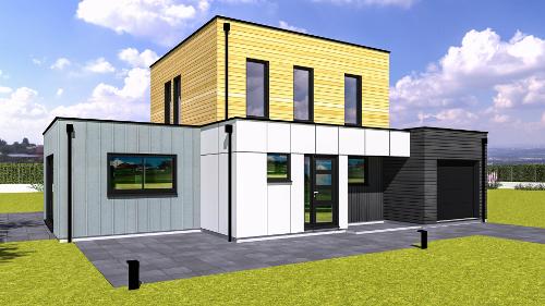 modeles maison ossature bois