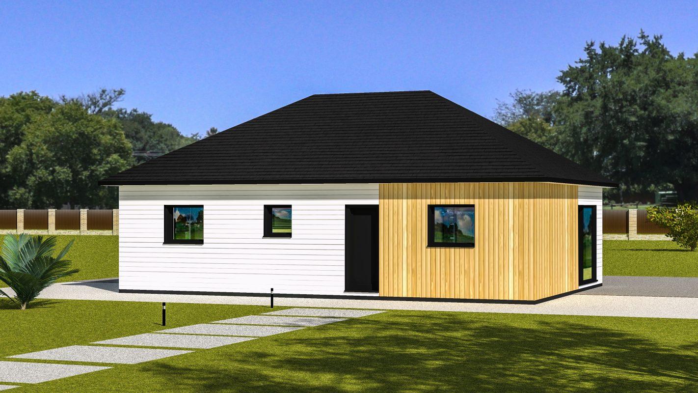 maison ossature bois ottawa vue devant