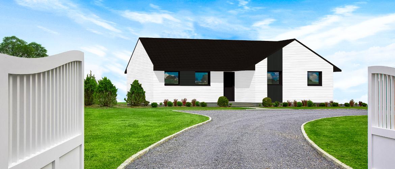 maisons ossature bois gamme cosy