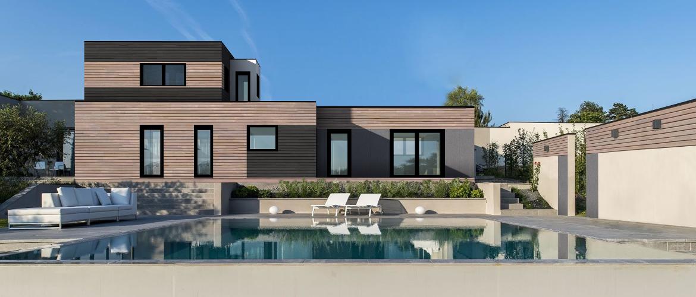 maisons ossature bois gamme elegance