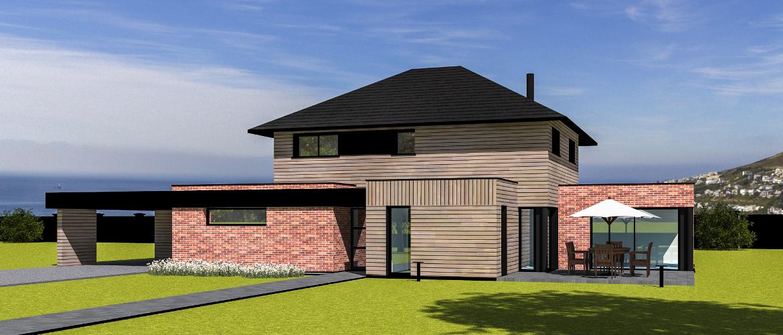 maisons ossature bois gamme logicobois