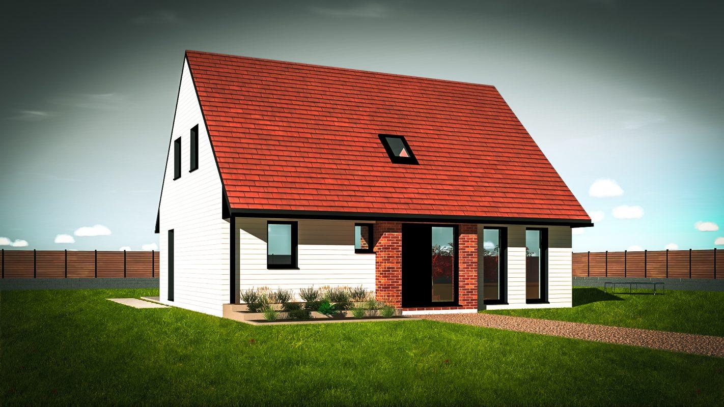 maison bois - construction en ossature bois