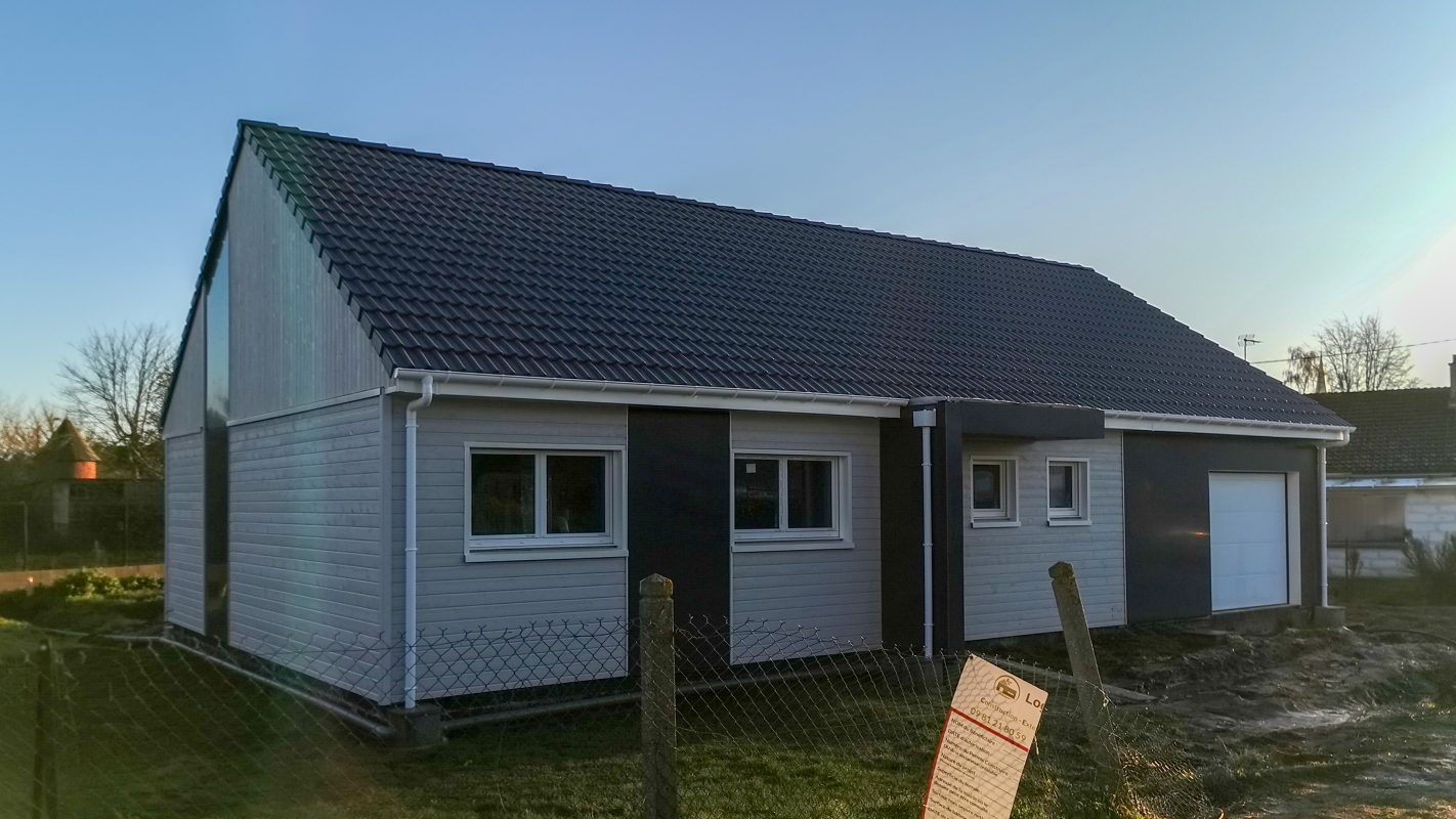 maison plain-pied ossature bois