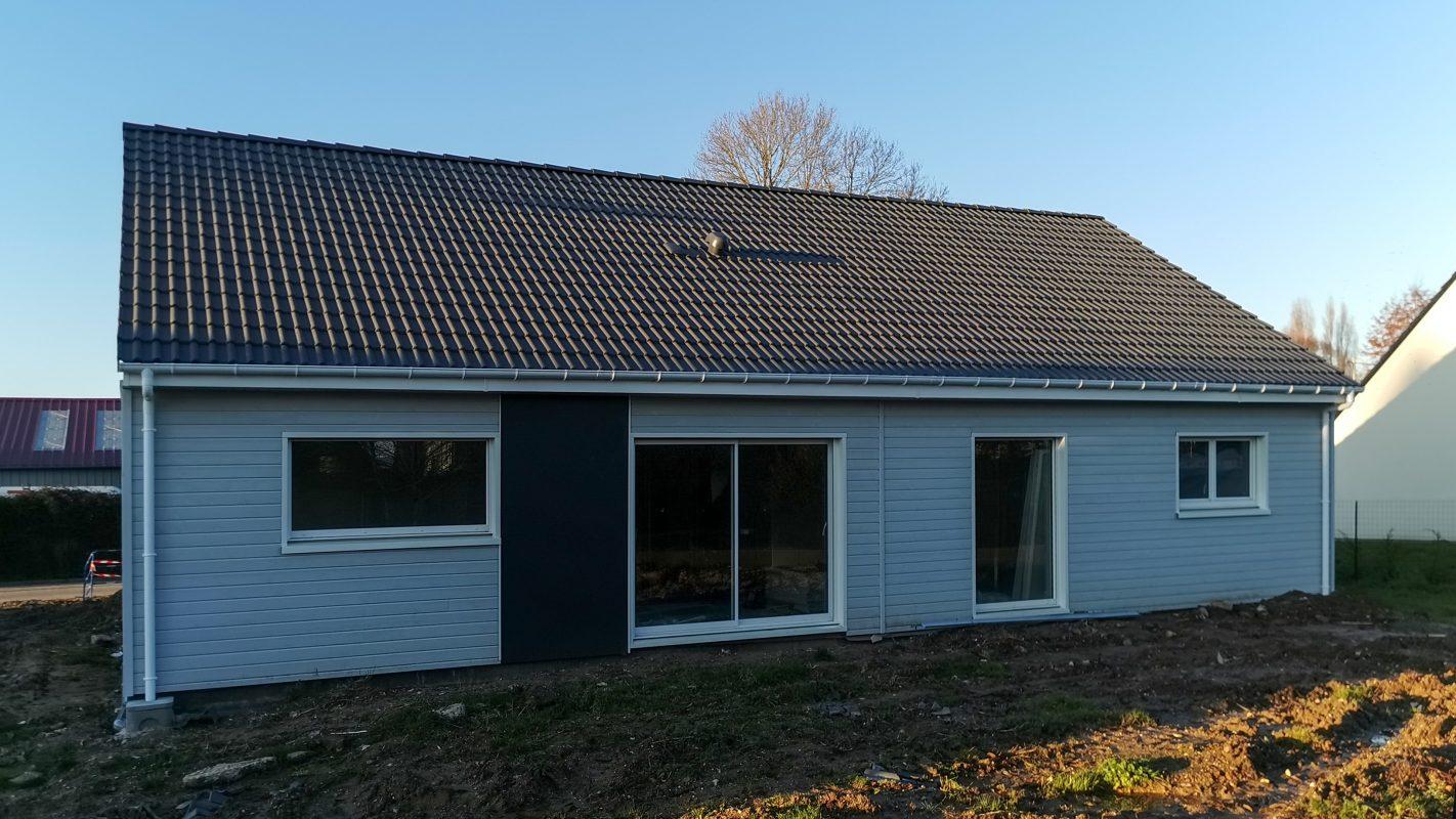 maison plain-pied ossature bois logicobois