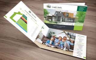brochure maison ossature bois logicobois
