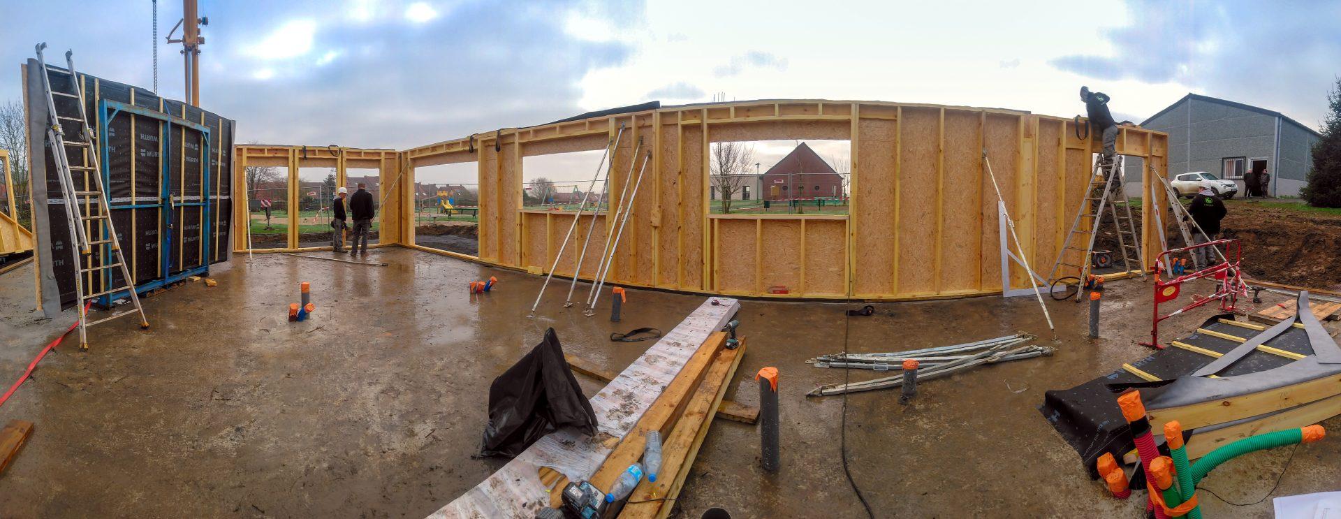 construction ossature bois flandres