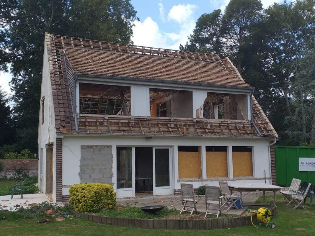 Travaux toiture rénovation saint-omer